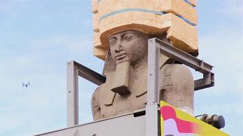 Giant Ramses II Statue Moved to Grand Egyptian Museum