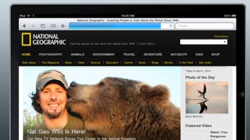National Geographic on the iPad