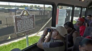 Hurricane Katrina Survivor Gives Tours of Its Destruction
