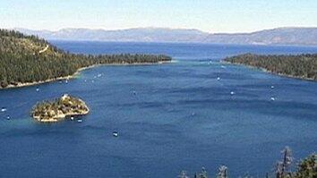 Cleaning Lake Tahoe