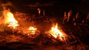 The Ganges: Cremation Fires Burn in Sacred City