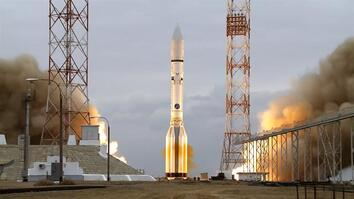 The Launch of ExoMars