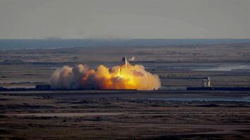 SpaceX's Starship First High-Altitude Flight