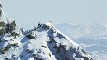 Skiing the Ultimate Drop