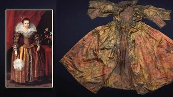 See the Royal Clothing Discovered in 1600s Shipwreck