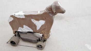 Bobby's Mechanical Cow