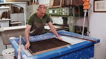 See How Paper Is Still Being Made by Hand Today