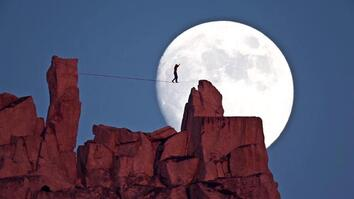 Epic Moonwalk Above Yosemite