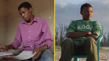 These Two Young Bushmen Hope for a New Life in the Modern World