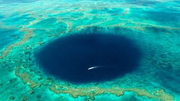 Great Barrier Reef Blue Hole Filmed For First Time Ever