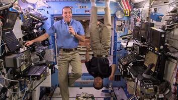 Upside Down Astronaut