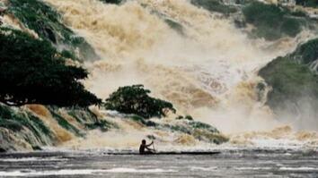 Gabon Waterfall