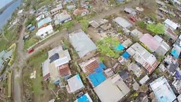 Drone's-Eye View of Damage From Vanuatu Cyclone
