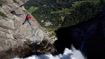 NG Live!: Highlining Yosemite Falls with Dean Potter