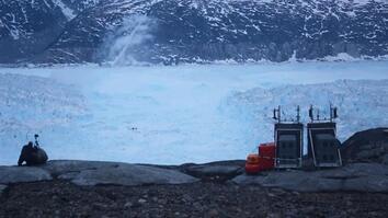 Watch a 4-Mile-Wide Iceberg Break From Greenland Glacier