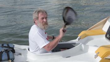 67-Year Old Adventurer Kayaks Across Atlantic Ocean