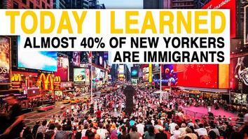 TIL: Almost 40 Percent of New Yorkers Are Immigrants