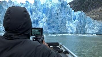 A Huge Chunk of Glacier Is Falling; Will They Get the Shot? | Extreme Weather (Behind the Scenes)