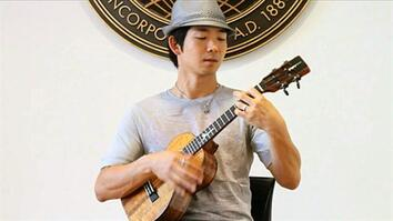 Jake Shimabukuro Live at Nat Geo Music's NYC Office