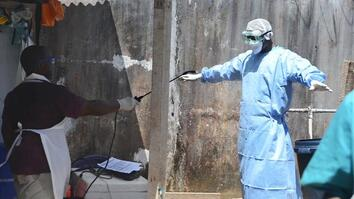 Inside an Ebola Clinic in West Africa