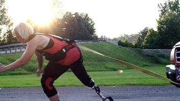 Pushing Limits With America's Strongest Disabled Woman