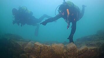 Underwater Fortress Discovered Under Turkish Lake