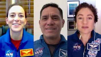 Meet three astronauts selected to train for missions to the moon