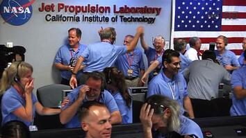 Mars Curiosity Rover Landing a Success—NASA Jubilant