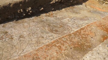 See Massive Roman Mosaic Unearthed in England