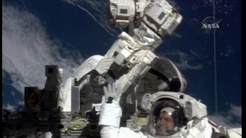 Astronauts on 2nd Space Walk