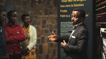 A Survivor's Story as a Guide at Rwanda's Genocide Memorial