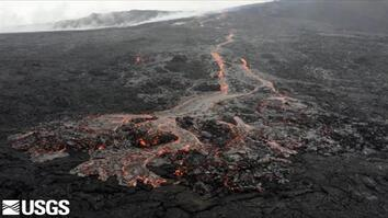 Watch Lava Flow From Hawaii's Most Active Volcano