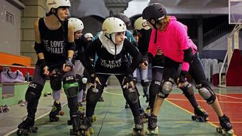 See Why This Roller Skating Girl Squad Is the First of Its Kind