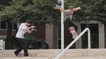 Skateboarder Turns Boston Into Giant Skate Park