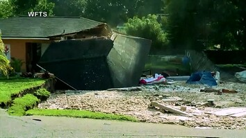 Watch: Sinkhole Destroys Homes in Florida