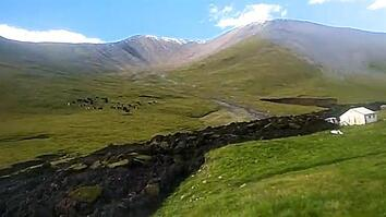 Bizarre 'Lava-Like' Landslide Tears Through Hillside