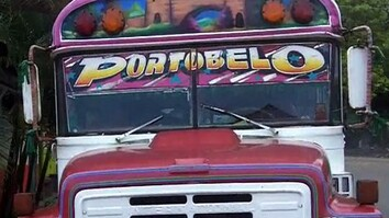 Panamanian Party Bus