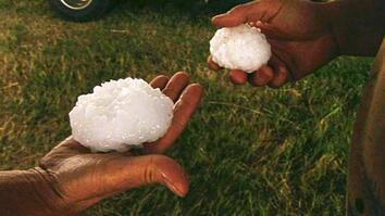 Inside a Baseball-Size Hailstorm