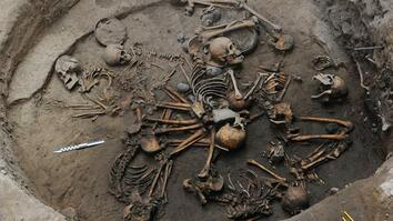Pre-Aztec Skeletons Found Arranged in Spiral Shape