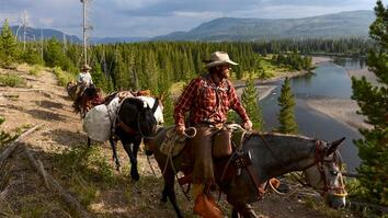 With Horses' Help, Army Veteran Finds Healing in Yellowstone