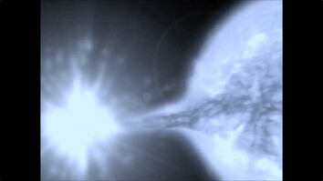 Supernova Shoots a Star
